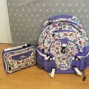 Girl's backpack bundle